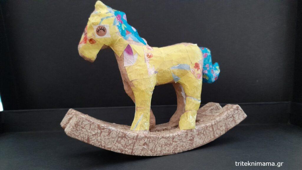 decoupage άλογο